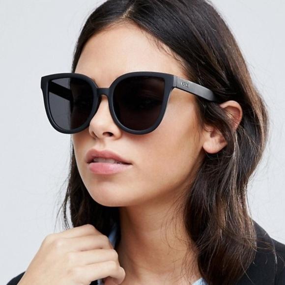 4704b0e13d6 QUAY black cat eye sunglasses. M 5ac0ed068290af7f21eca286